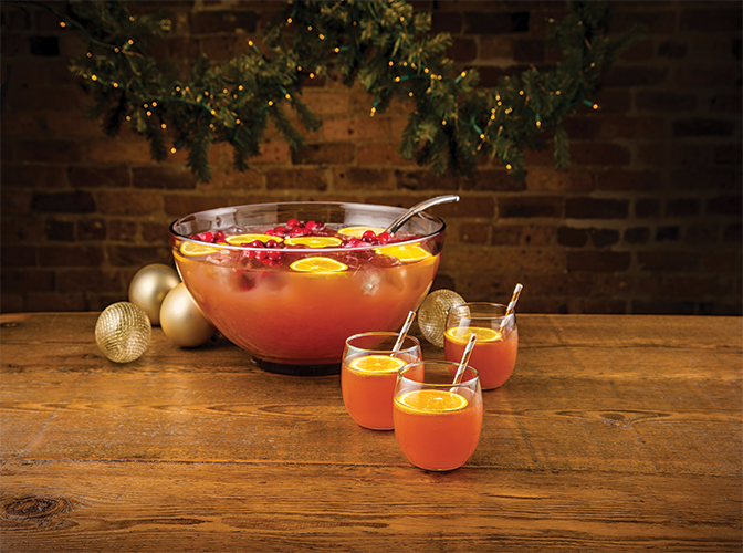 Holly Jolly Punch | The Cocktail Project