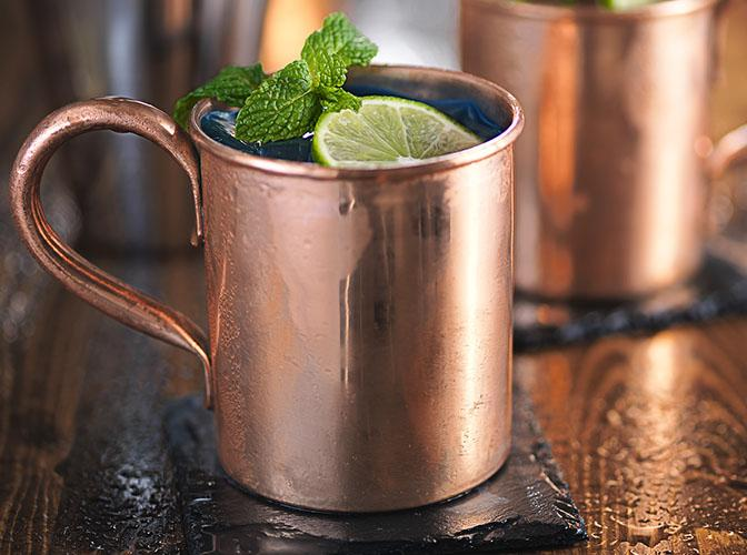 Blue Mule | The Cocktail Project