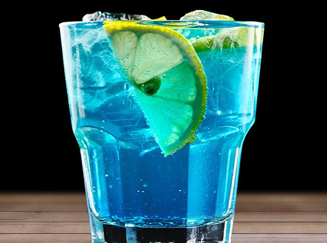 Blue Lagoon | The Cocktail Project