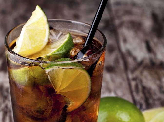 Cuba Libre   The Cocktail Project