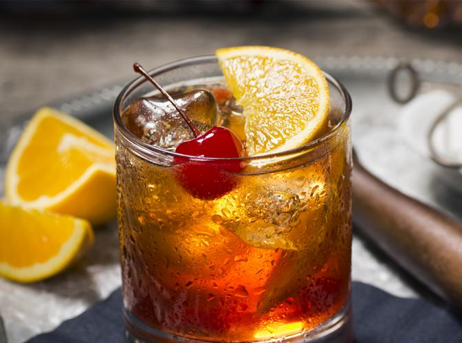New old fashioned cocktail 33