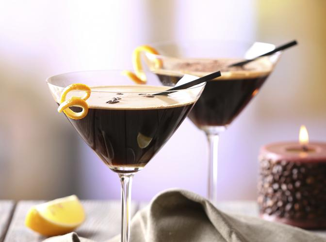 Mint Mocha Martini | The Cocktail Project