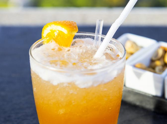 Kentucky Sunrise | The Cocktail Project