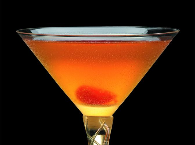 Fashionable Manhattan | The Cocktail Project