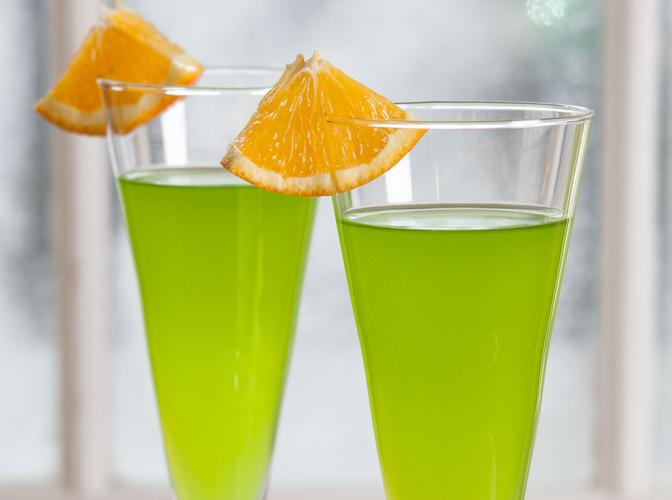 Midori® Orange and Sparkling | The Cocktail Project