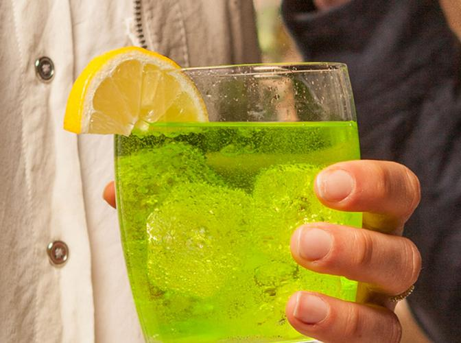 Midori® Tonic & Lemon | The Cocktail Project