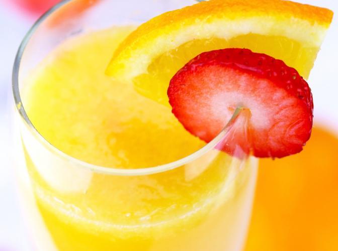 Pinnacle® Cinnabon® Sparkler | The Cocktail Project