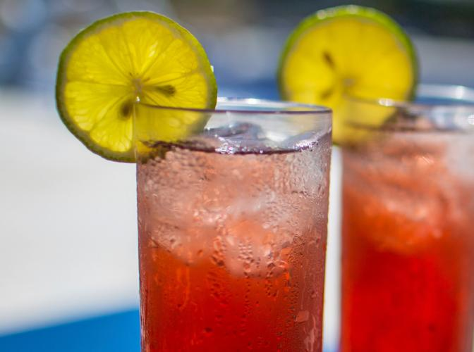 Key Lime Rouge | The Cocktail Project