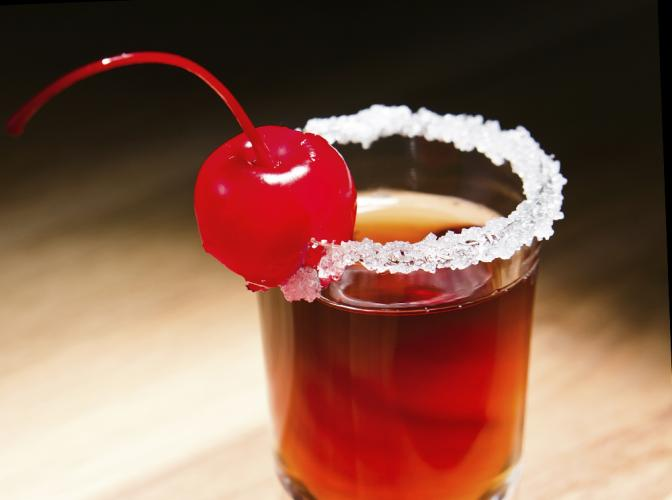Cocktail cherry