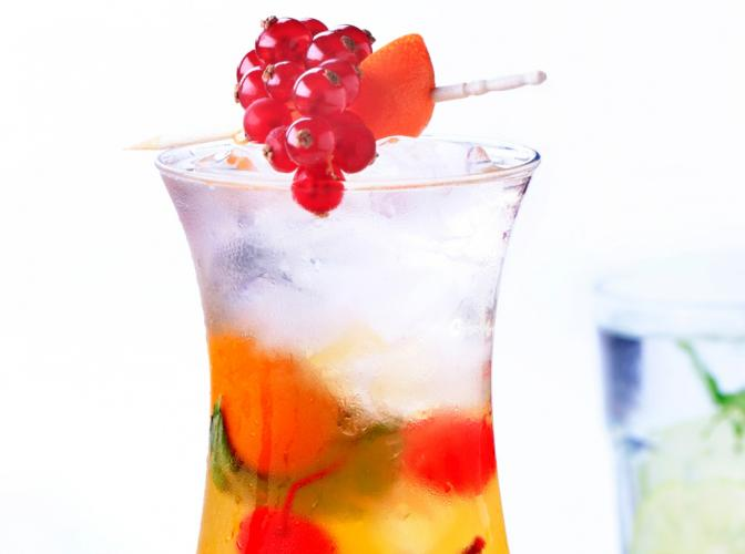 Sweet Cherry Tea | The Cocktail Project