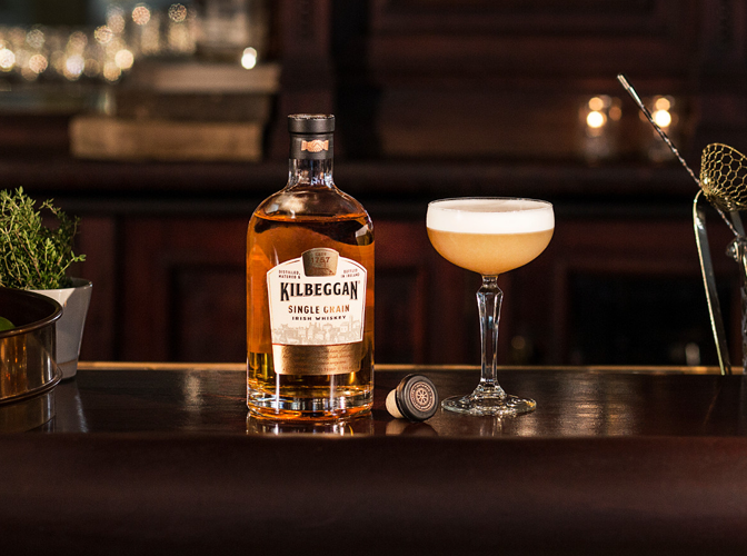 Kilbeggan® Brosna Sour | The Cocktail Project