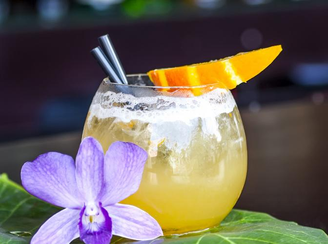 Mango Rum Margarita | The Cocktail Project