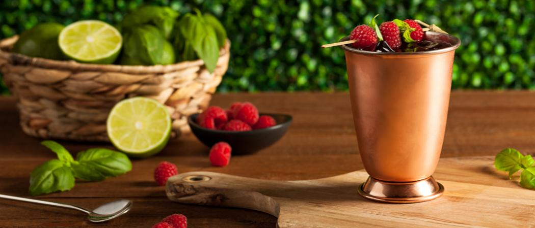 Berry Moscow Mule recipe