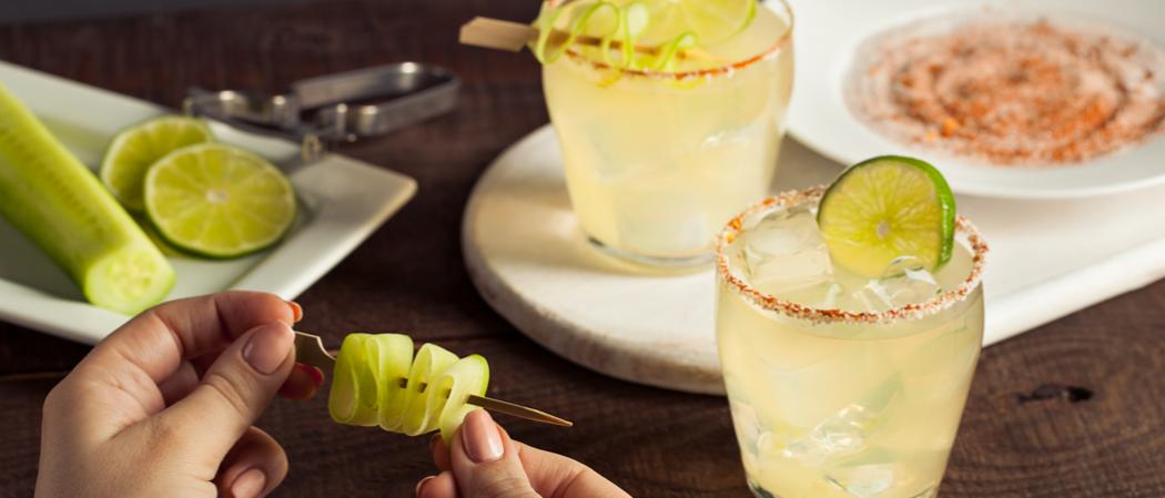 Spicy Cucumber Margarita | The Cocktail Project