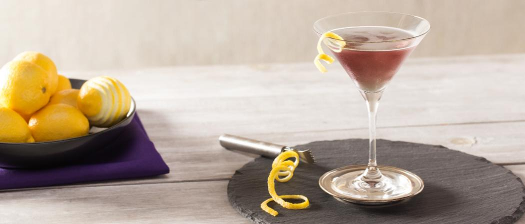 Purple Haze Martini | The Cocktail Project