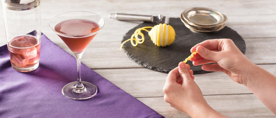 Purple Haze Martini recipe