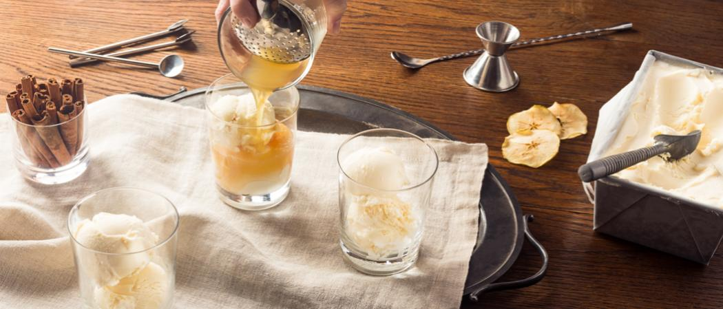 Apple Cider Float | The Cocktail Project