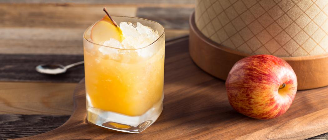Bourbon Cider Sour | The Cocktail Project