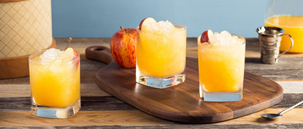 Bourbon Cider Sour | The Cocktail Project