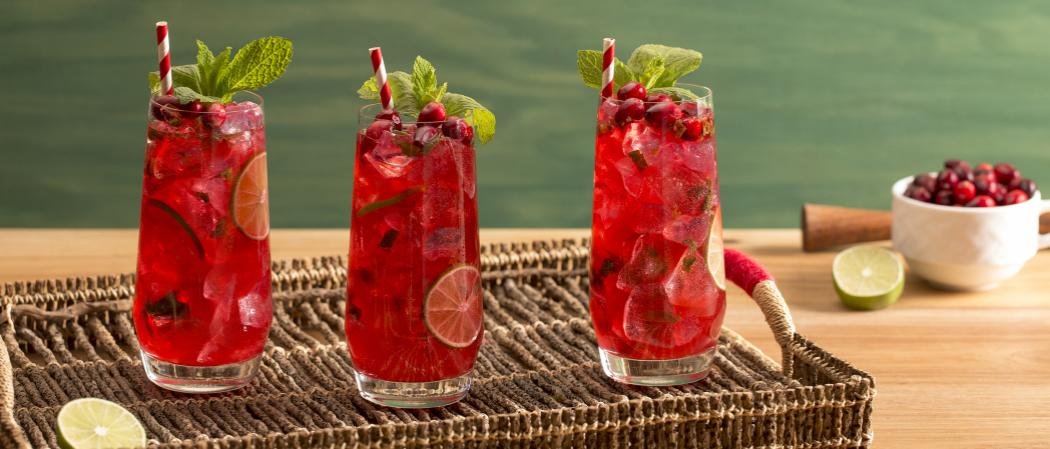 Cranberry Mojito | The Cocktail Project