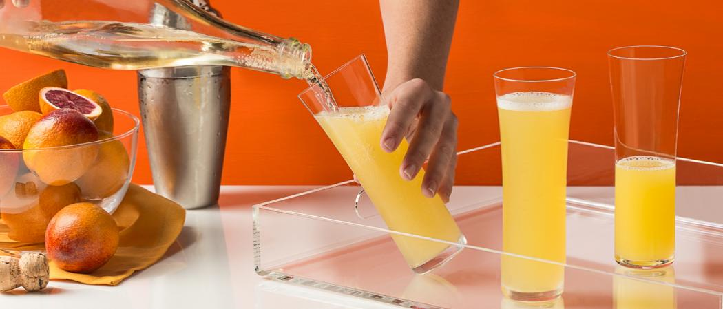 EFFEN® Blood Orange Mimosa | The Cocktail Project
