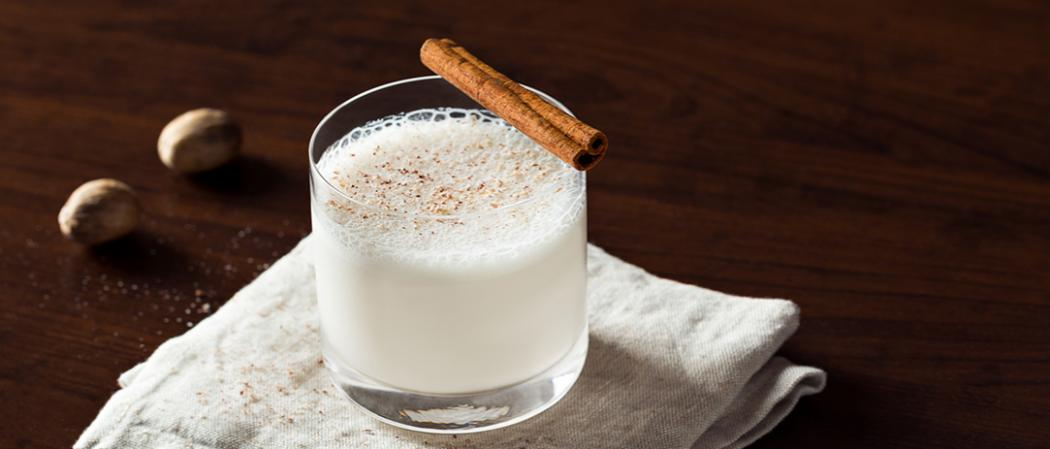 Bourbon Milk Punch recipe