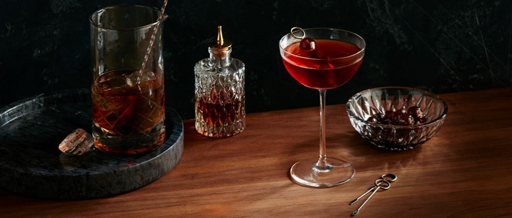 Baker's<sup>®</sup> Midnight Manhattan recipe