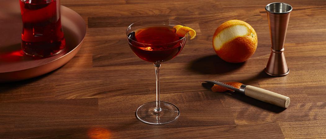 Basil Hayden's<sup>®</sup> Boulevardier recipe