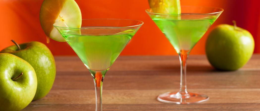 Caramel Apple Martini recipe