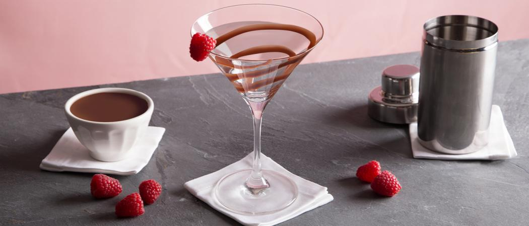 White Chocolate Raspberry Martini   The Cocktail Project
