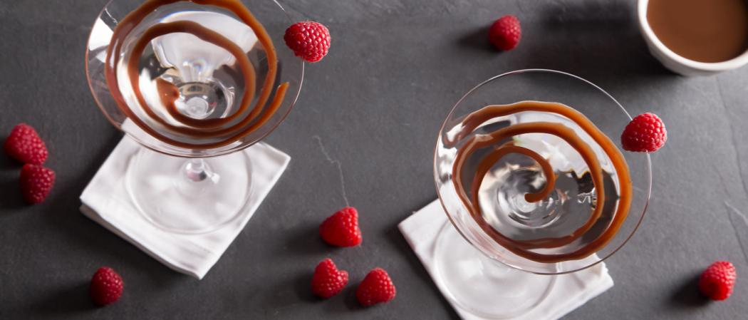 White Chocolate Raspberry Martini | The Cocktail Project