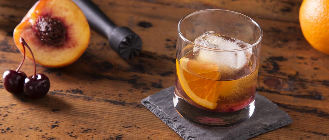 Peach Old Fashioned | The Cocktail Project