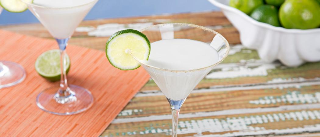 Key Lime Pie Martini | The Cocktail Project