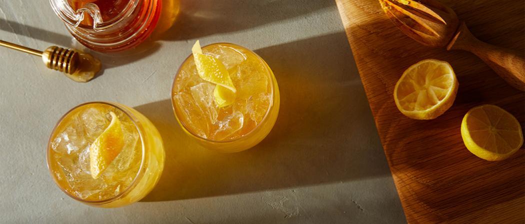 Maker's Mark<sup>®</sup> Gold Rush recipe
