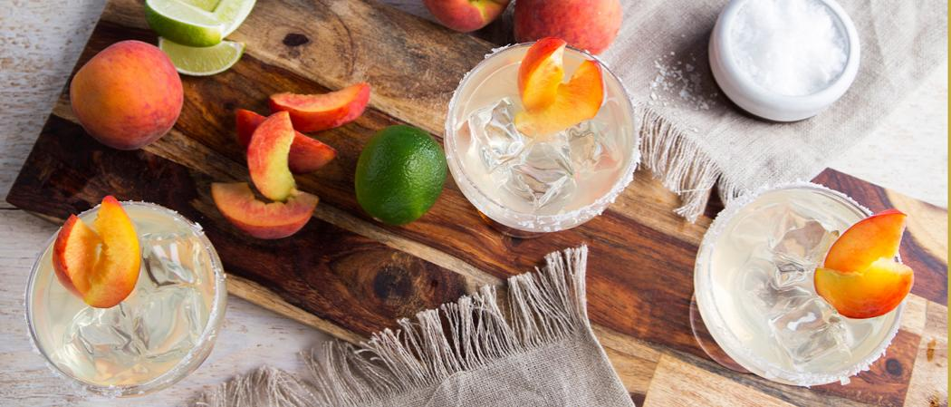 Peach Margarita | The Cocktail Project