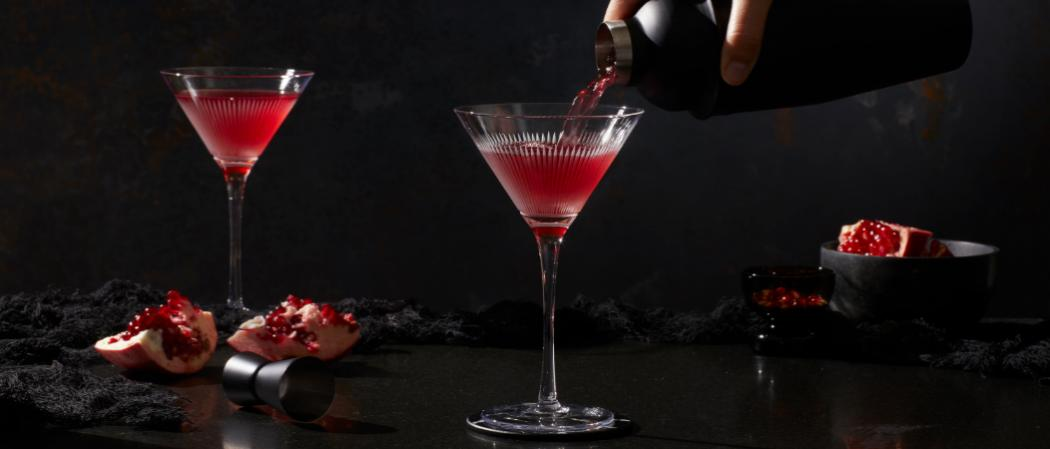 Pinnacle<sup>®</sup> Black Widow Martini recipe