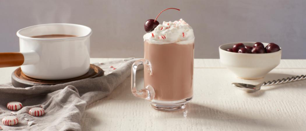 Pinnacle<sup>®</sup> Peppermint Hot Chocolate recipe