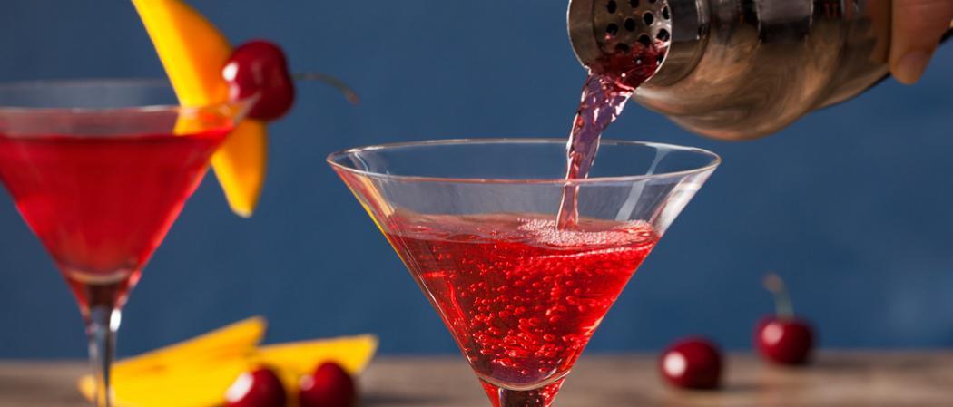 Mango Cran-Tini | The Cocktail Project