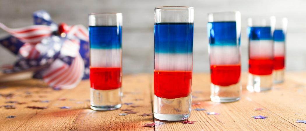 Red White And Blue Shot Recipe The Cocktail Project