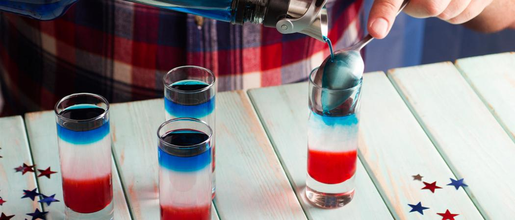 Red, White, and Blue Shot recipe