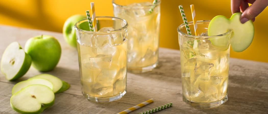 Apple Infused Bourbon Lemonade | The Cocktail Project