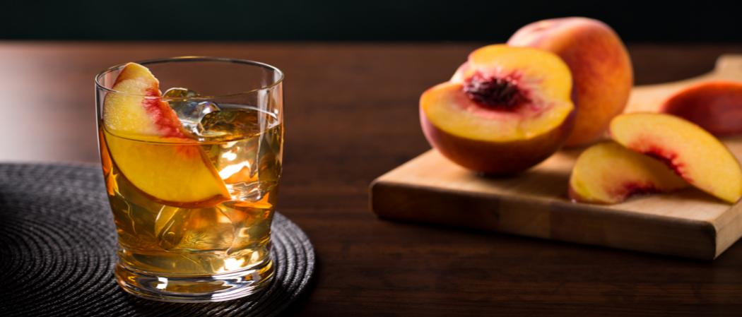Game Day Peach Sour | The Cocktail Project