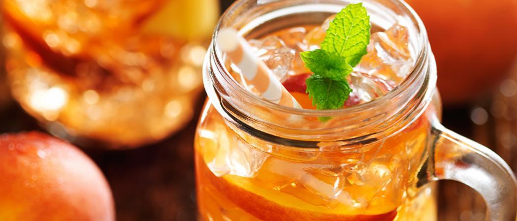 Peach Mojito | The Cocktail Project
