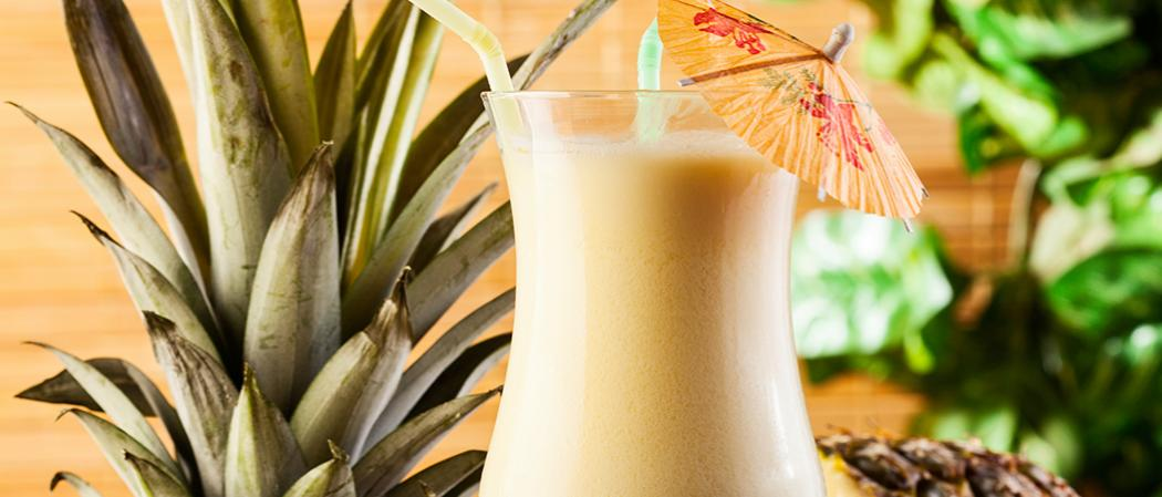 Amaretto Pina Colada | The Cocktail Project