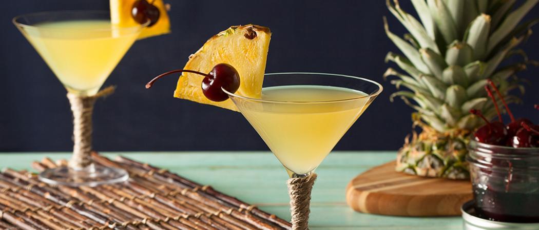 Pina Colada Martini | The Cocktail Project