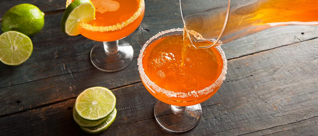 Candy Corn Margarita | The Cocktail Project