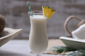 Play Video: How to make an Amaretto Pina Colada