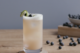 Play Video: How to Make a Blucumber Fizz