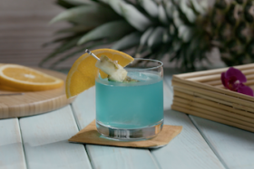 Play Video: How to Make a Blue Hawaii