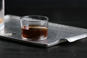 Play Video: How To Make A Hornitos® Black Barrel® Tequila Manhattan